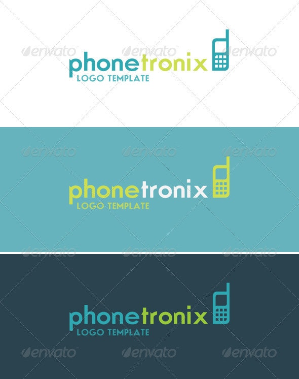 Phonetronix Logo - Objects Logo Templates
