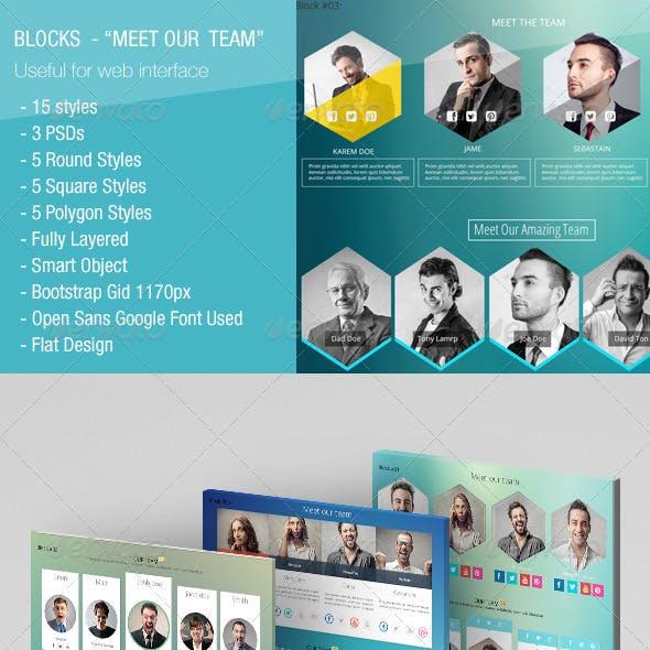 15 Blocks - Meet Our Team