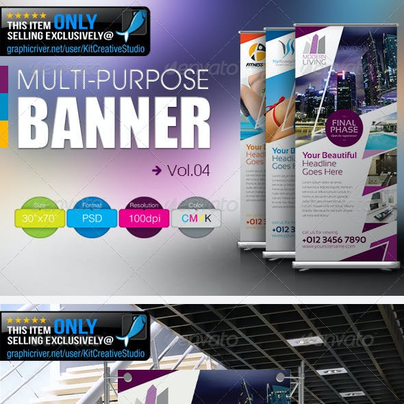 Multipurpose Banner Vol.4