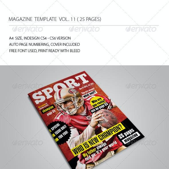 25 Pages Sport Magazine Vol11