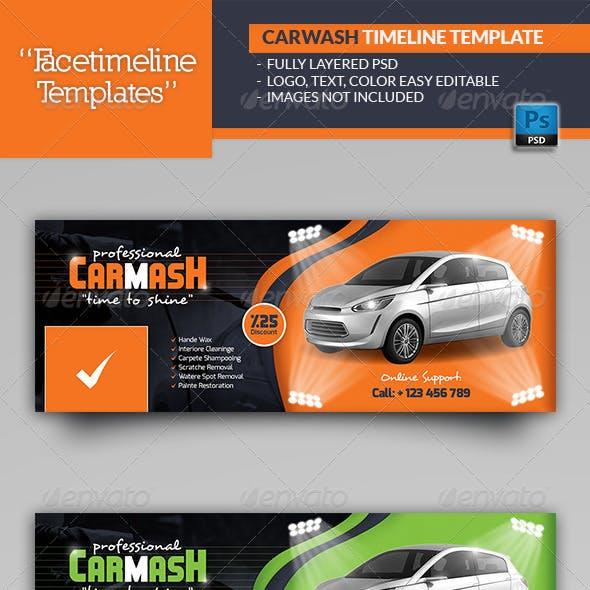 Car Wash Timeline Templates