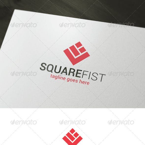 Square Fist Logo