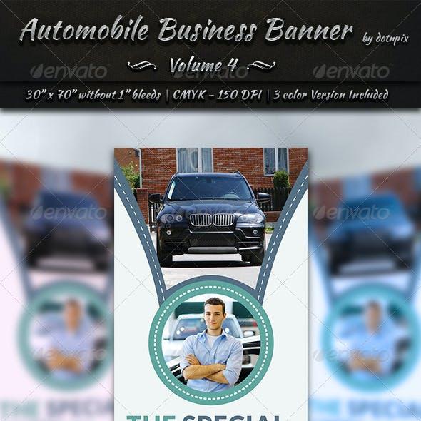 Automobile Business Banner | Volume 4
