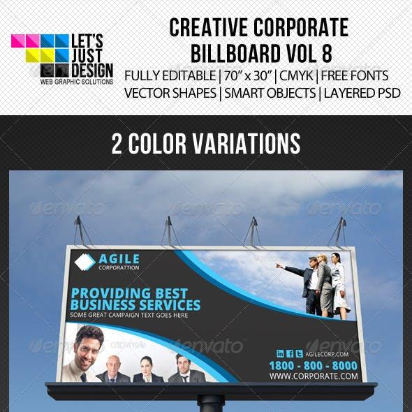 Corporate Billboard Banner Vol 8