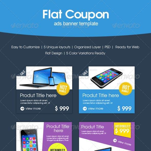 Flat Coupon Sale