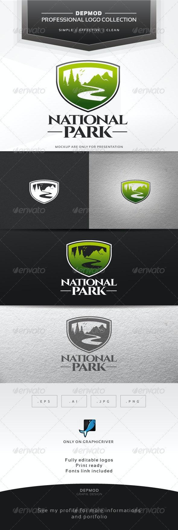 National Park Logo - Nature Logo Templates
