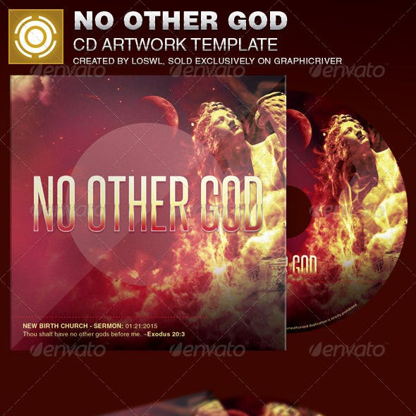 No Other God CD Artwork Template