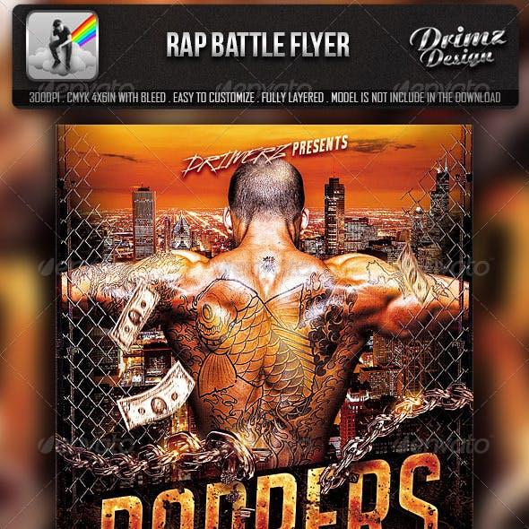 Rap Battle Flyer