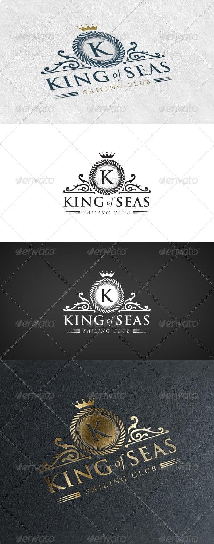 Elegant Logo - Sailing Club - Crests Logo Templates