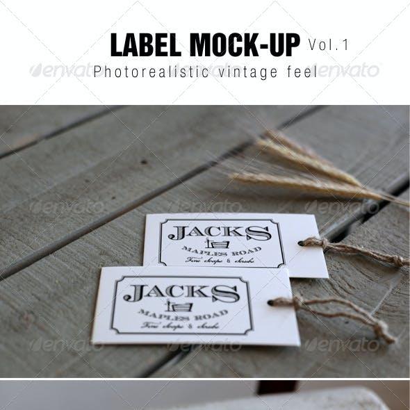 Label Mockup