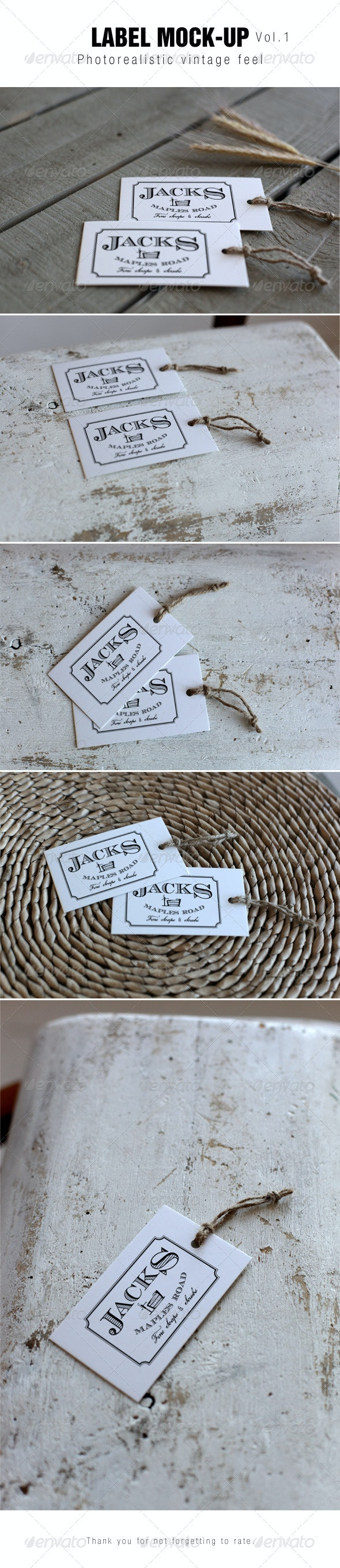 Label Mockup - Miscellaneous Packaging
