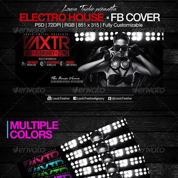 Electro House | Facebook Cover