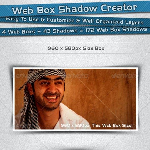 Web Box Shadow Creator