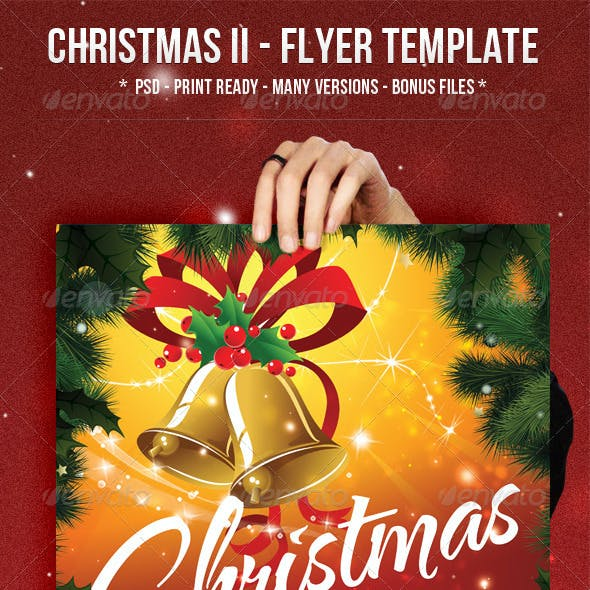 Christmas II - Flyer Template