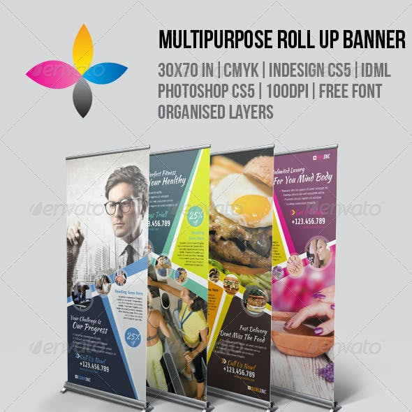 Multipurpose Roll Up Banner