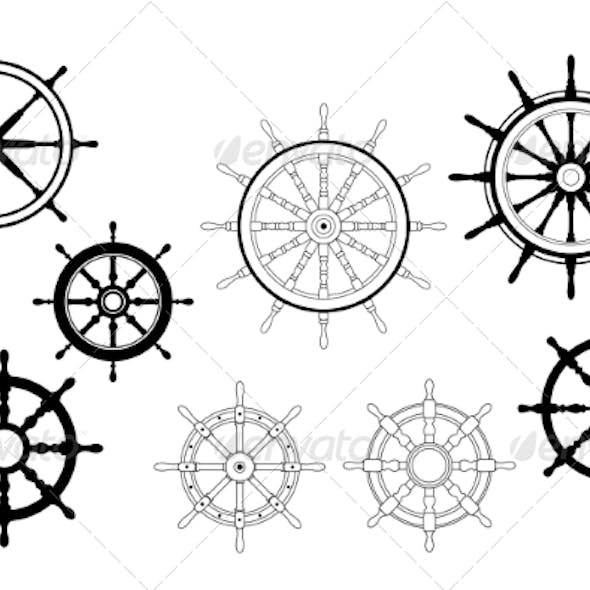 Nautical Ships Wheels