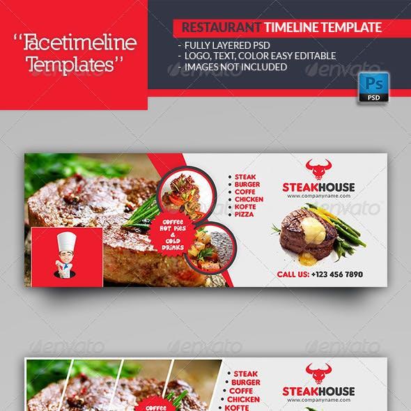 Restaurant Timeline Templates