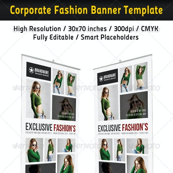 Fashion Multipurpose Banner Template 34