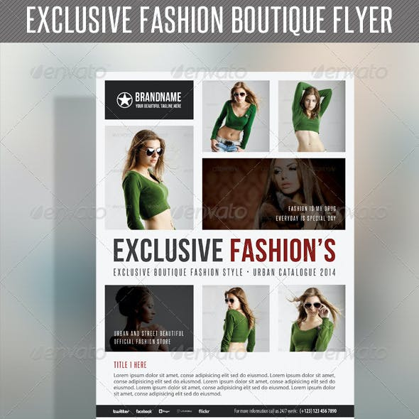 Fashion Product Flyer 39