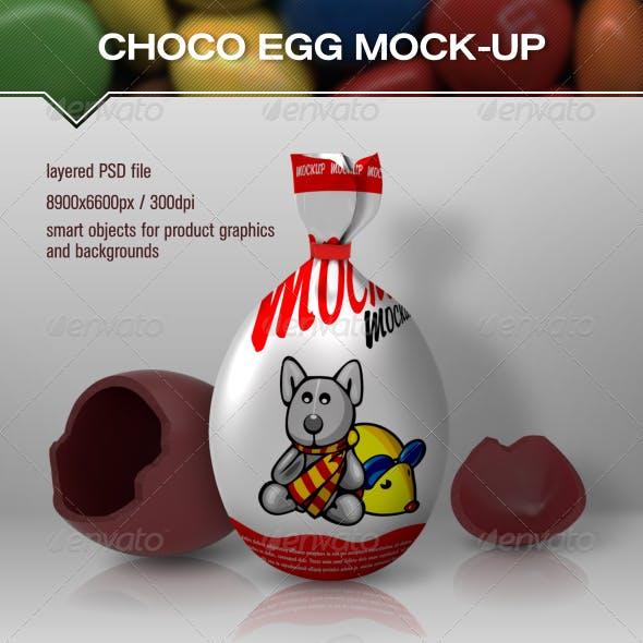 Choco Egg Mock Up