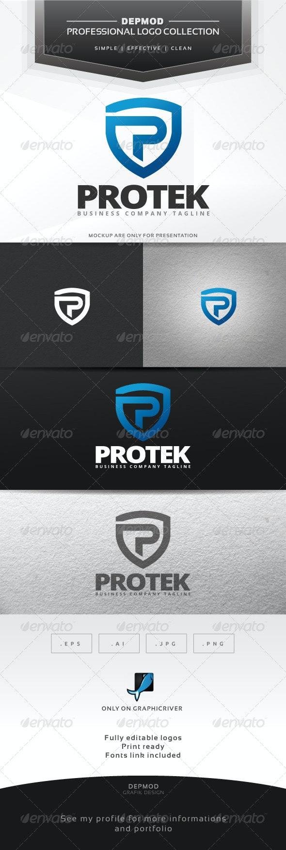 Protek Logo - Letters Logo Templates