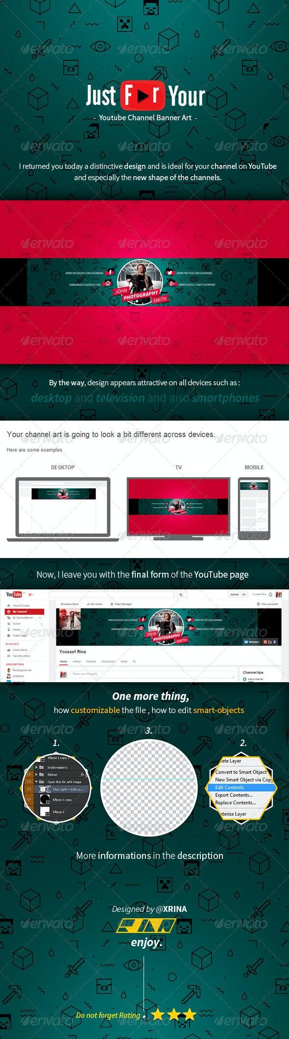Royal Youtube Banner - YouTube Social Media