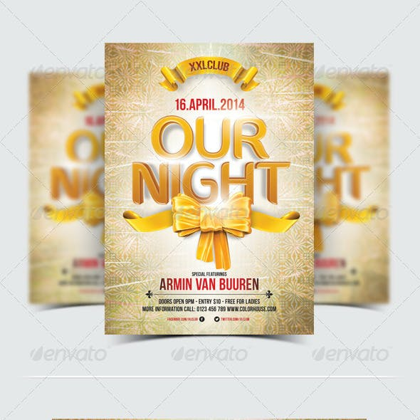 Our Night Party Flyer / Poster - 11