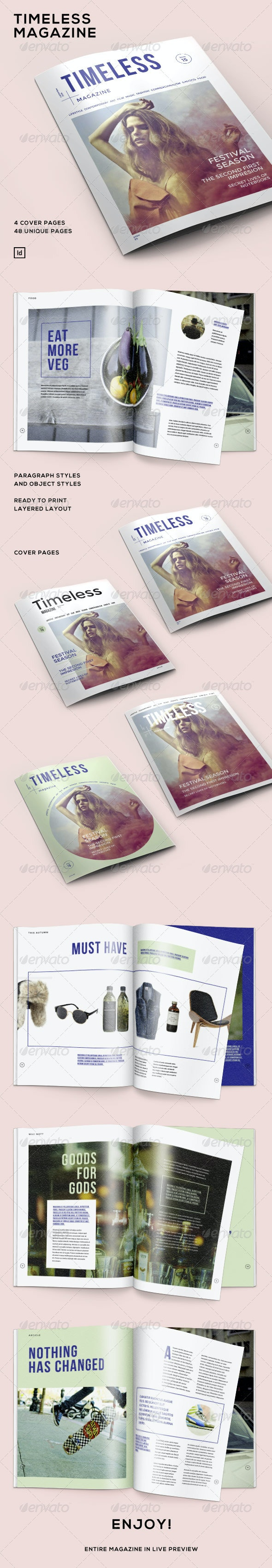 Timeless Magazine - Magazines Print Templates