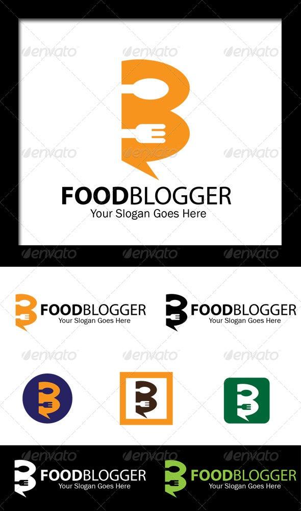 Food Blogger - Letter B Logo