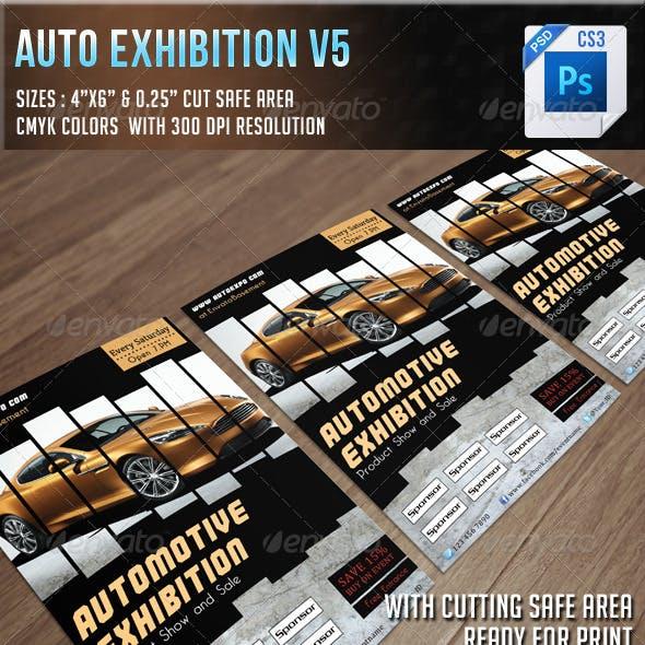 Auto Exhibition Flyer V4