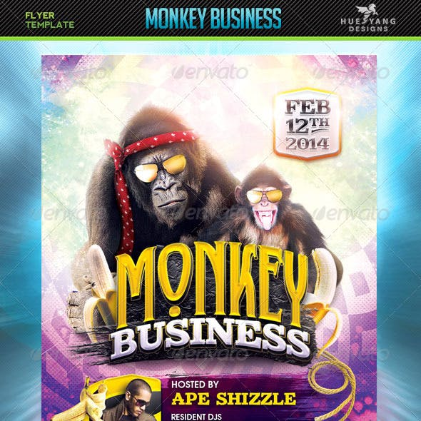 Monkey Business Flyer