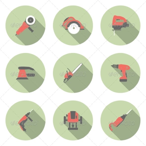 Electric Tool Icons