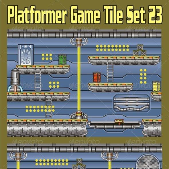 Platformer Game Tile Set 23