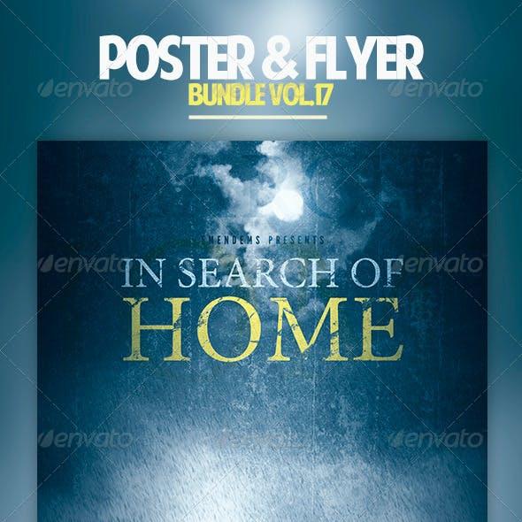 Poster & Flyer Bundle Vol.17