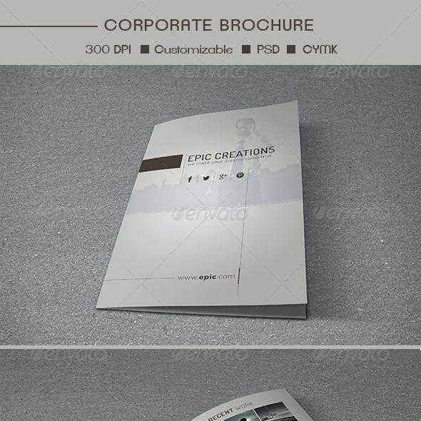 Bifold Multipurpose Brochure Template