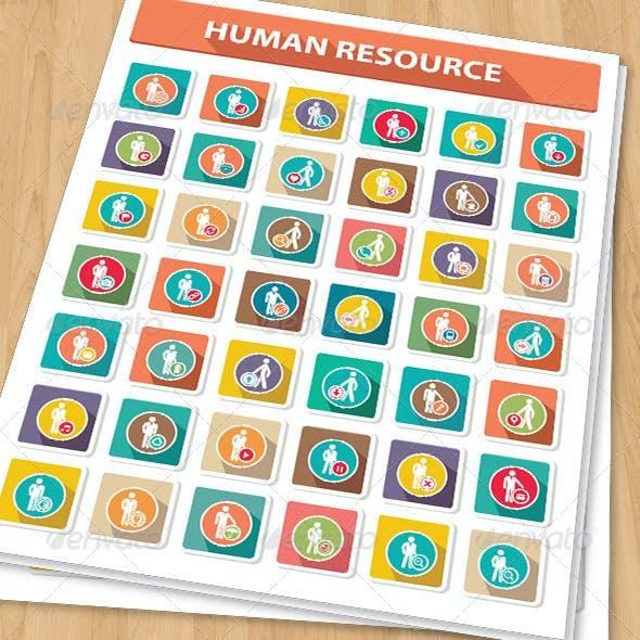 42 Human Resource Icons