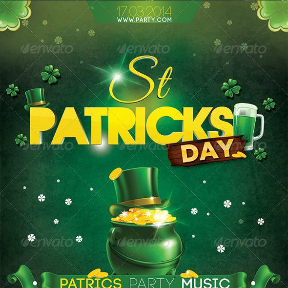 St Patrick Day Flyer