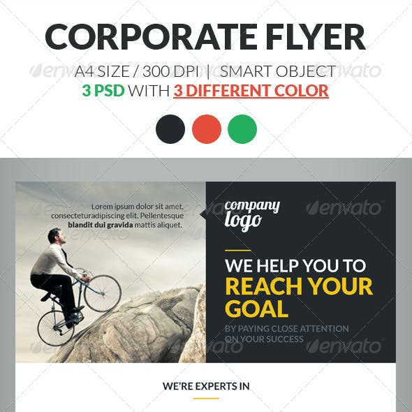 Corporate Flyer Template Vol 2