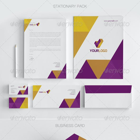 Modern Stationary Pack - 01