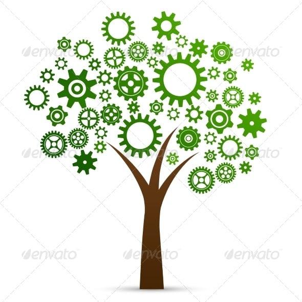 Industrial Innovation Concept Tree