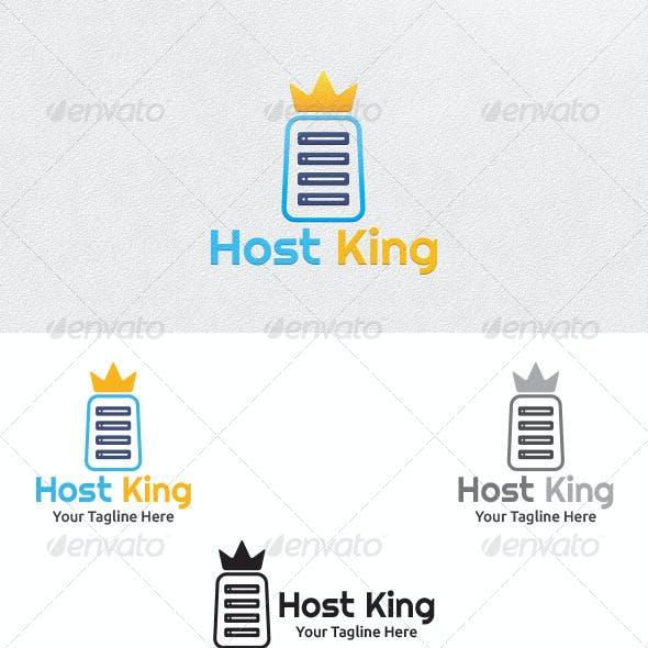 Host King - Logo Template