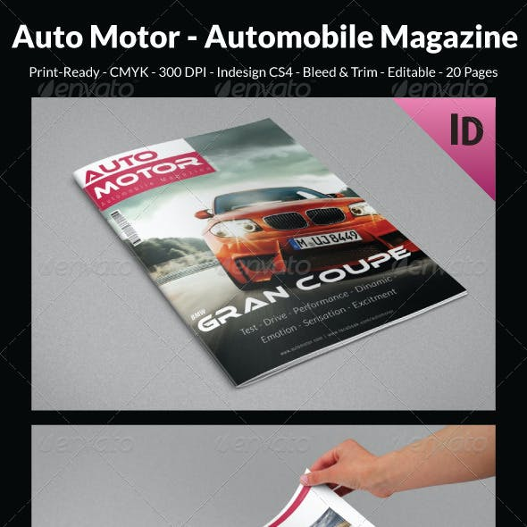 Auto Motor - Automobile Magazine