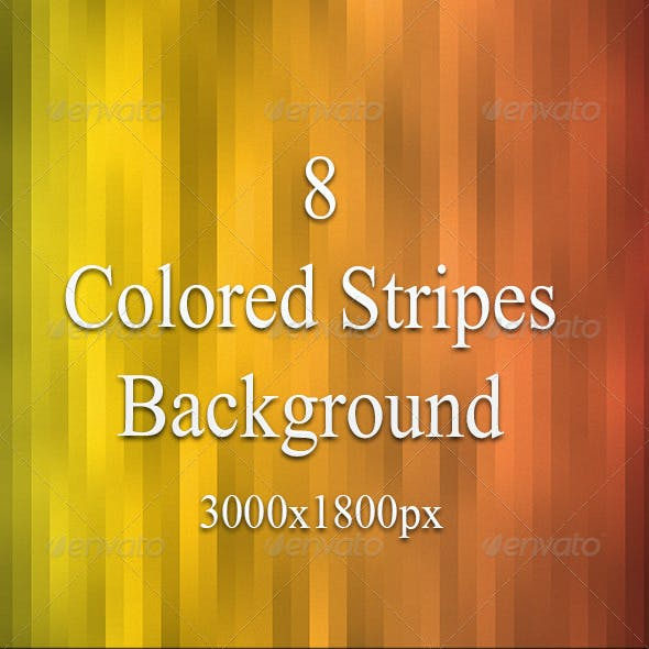 Colored Stripes Background