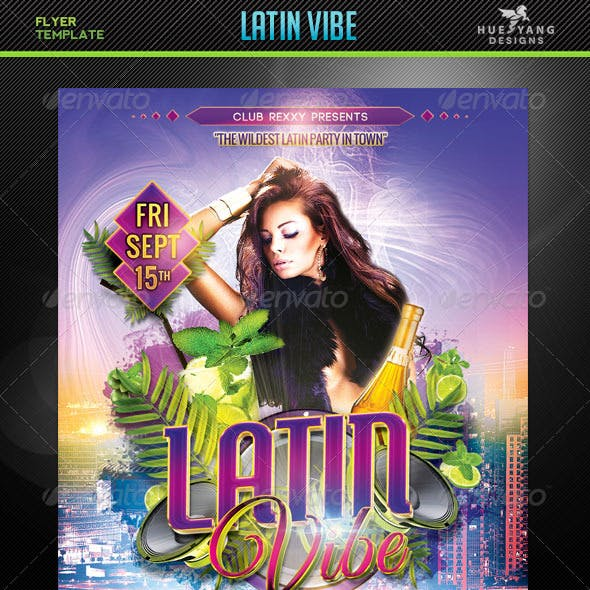 Latin Vibe Flyer Template