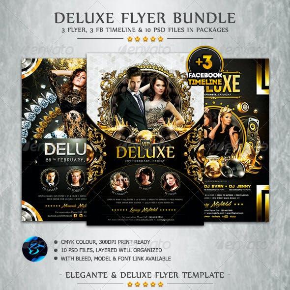 Deluxe Flyer Bundle + FB Timeline Cover