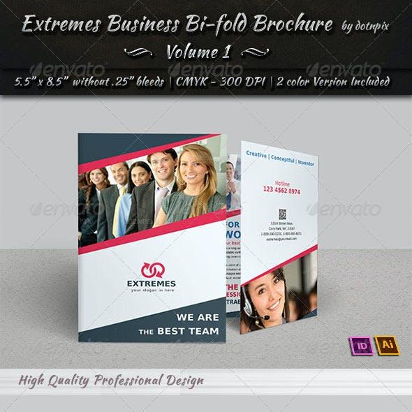Corporate Business Bi-Fold Brochure | Volume 3