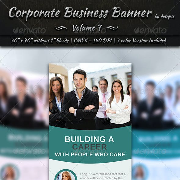 Corporate Business Banner | Volume 7