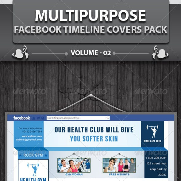 Multipurpose Business FB Timeline | Volume 1