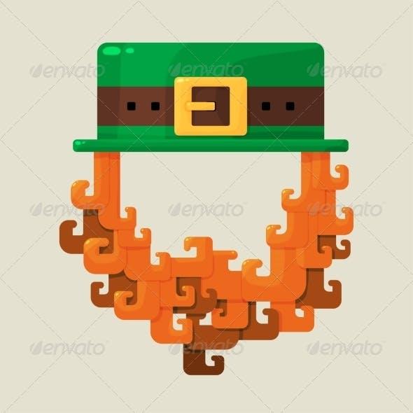 Irish St. Patricks Day Leprechaun
