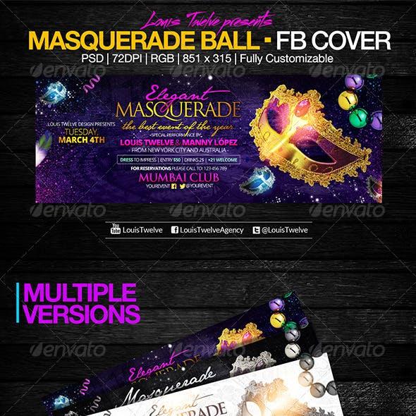 Masquerade Party | Facebook Cover